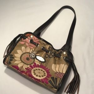 SPARTINA 449 Natural Linen With Leather straps